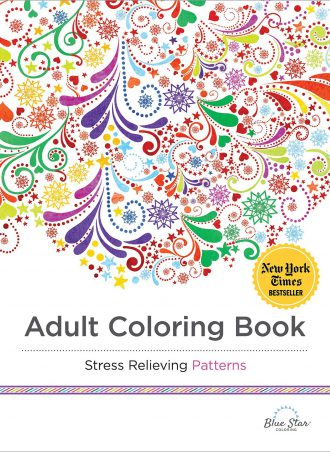 Adult Coloring Book - Stress Relieving