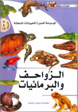 الموسوعة المصورة للحيوانات المدهشة: الزواحف والبرمائيات