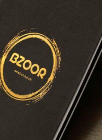 B5 black Sketchbook