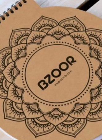 Circle sketchbook