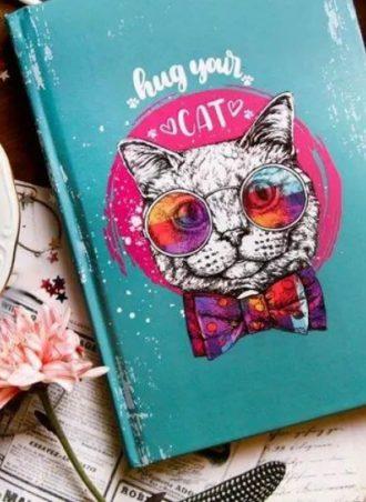 hug your cat notebook