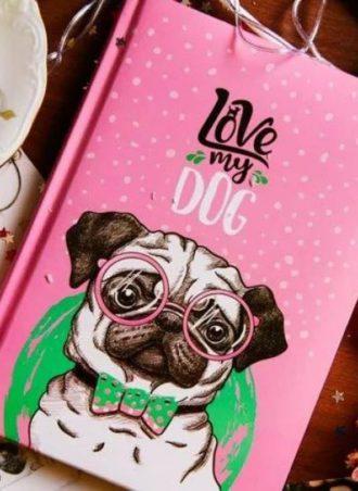 love my dog notebook